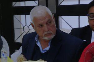 Ricardo Martinelli Berrocal ha indicado ser víctima de un juicio político. Archivo