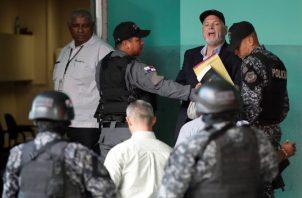 Ricardo Martinelli ha indicado que  está siendo víctima de un proceso político. EFE