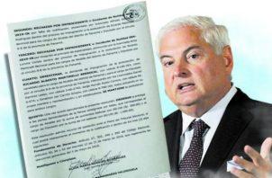 Ricardo Martinelli es candidato para los cargos de diputado en el circuito 8-8 y alcalde del distrito de Panamá.