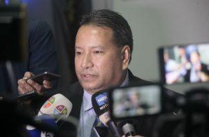 Ricardo Torres, jefe de bancada del PRD.