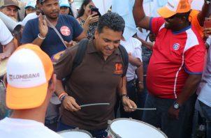 Ricardo Lombana regresará a la ciudad de Panamá el domingo 7 de abril, para realizar una caminata por sectores del circuito 8-8.