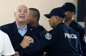 Reinicia juicio oral al expresidente Ricardo Martinelli en medio de solicitudes de la defensa. Foto: Panamá América.