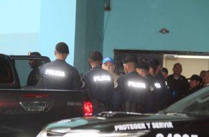 Ricardo Martinelli le envió un mensaje a Juan Carlos Varela a su salida del Sistema Penal Acusatorio. Foto Víctor Arosemena