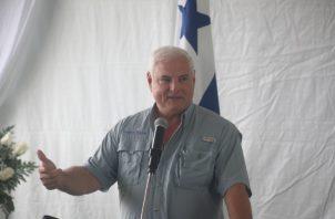 Ricardo Martinelli en reiteradas ocasiones ha exigido justicia y un trato justo como cualquier otro panameño. Archivo