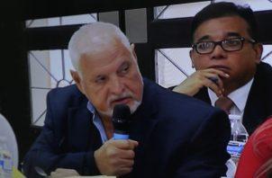 Ricardo Martinelli, durante el acto de audiencia, volvió a reiterar que probará su inocencia. Víctor Arosemena