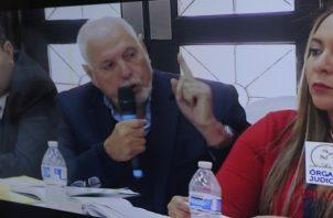 Ricardo Martinelli indicó que Juan Carlos Varela decidió que su venganza contra él era más importante que todo el sistema judicial panameño. Foto: Víctor Arosemena