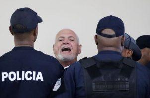 El expresidente Ricardo Martinelli mantiene su teoría de que su proceso es persecución política. Foto: EFE