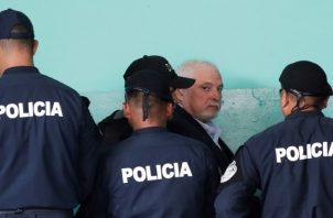 La salud del expresidente de la República Ricardo Martinelli Berrocal será evaluada en el día de hoy por el Instituto de Medicina Legal. EFE
