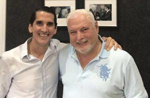 Rómulo Roux (izq.) cree firmemente que Ricardo Martinelli recibirá el apoyo de los panameños el próximo 5 de mayo.