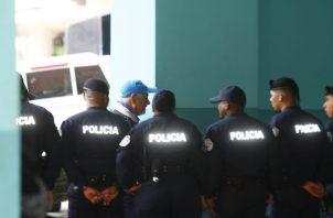 Ricardo Martinelli luce una gorra alusiva a sus candidaturas, a su llegada hoy al Sistema Penal Acusatorio. Foto: Víctor Arosemena