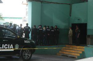 Ricardo Martinelli a su llegada al Sistema Penal Acusatorio. Foto Víctor Arosemena