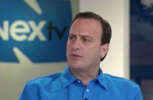 Riccardo Francolini se refiere a la situación económica del país. Foto: Panamá América.