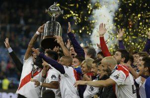 River se consagró en Madrid.