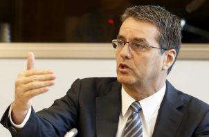 Roberto Azevedo espera que medidas retrocedan. EFE