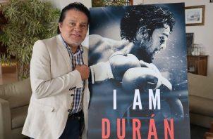 """Roberto """"Mano de Piedra"""" Durán, de 68 años de edad, fue campeón mundial de boxeo en cuatro categorías diferentes."""