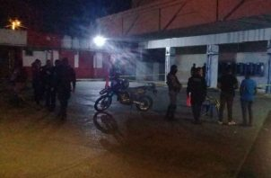 Robo en supermercado en San Miguelito. Foto/@Grupo Elite