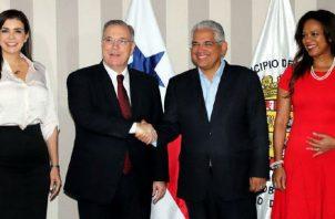 El alcalde electo, José Luis Fábrega, se comprometió en seguir las obras que quedan pendientes de la administración saliente.