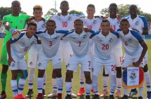 Equipo panameño Sub-17. Foto:@Fepafut