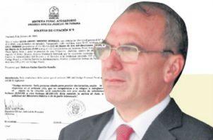 """Rolando """"Picuiro"""" López debe darle a la defensa del exmandatario la ubicación de los testigos que laboran y los que dejaron de trabajar Consejo de Seguridad."""