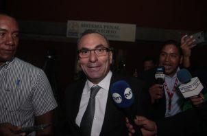 Rolando López Pérez, exjefe del Consejo de Seguridad Nacional durante el gobierno del expresidente Juan Carlos Varela.