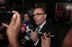 Rolando López compareció como testigo en el caso de los pinchazos telefónicos. Foto Víctor Arosemena.