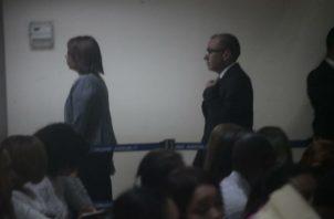 El exsecretario del Consejo de Seguridad Rolando López rinde testimonio en caso de los pinchazos.