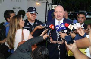 Rolando Mirones dijo que adelanta un anteproyecto sobre normas judiciales. Foto: Panamá América.