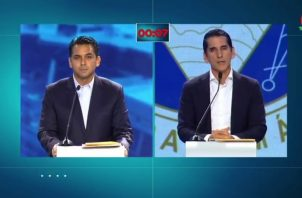 Rómulo Roux refutó la pregunta que le lanzó el candidato independiente Ricardo Lombana.