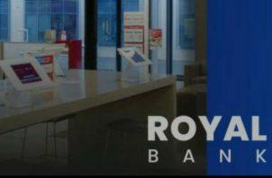 Royal Bank, no ha solicitado, ni cuenta con autorización la Superintendencia, para el uso de la palabra banco