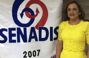 Rubiela Pitano hizo pública su declinación como directora general de Senadis a través de su cuenta de Twitter.