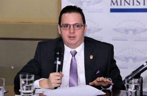 Ministro de Gobierno, Carlos Rubio. Foto de archivo