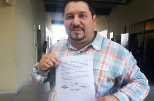 Samid Sandoval resultó electo como diputado y alcalde.  Foto de Adiel Bonilla