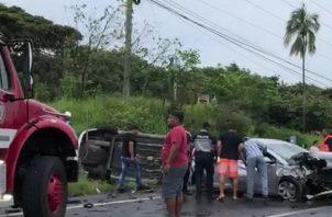 Las dos unidades de la Policía Nacional asignadas a la zona policial de la provincia de Colón se encontraban en su día libre, según confirmaron fuentes policiales. Foto/Eric Montenegro