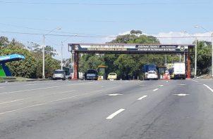 El decomiso se logró en el puesto de Control de San Isidro en el distrito de Barú, próximo a paso Canoas cuando se realiza la revisión al auto encontrándose la droga.