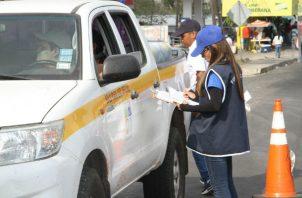 El operativo se realizó durante las fiestas de Carnaval.