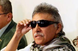 """El líder del partido político FARC Seuxis Paucias Hernández, alias """"Jesús Santrich"""", dejó plantada a la justicia colombiana. FOTO/EFE"""