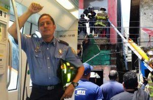 Manuel Antonio Naar fue bombero por 18 años. Imagen de Panamá América