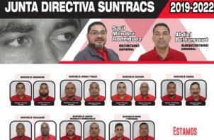 Saúl Méndez lleva nueve años como secretario general del Suntracs.