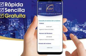 La aplicación permitirá al cliente seguir el progreso de sus reclamos bancarios.