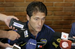 Guillermo Barros Schelotto. Foto:AP