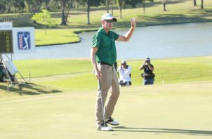 El estadounidense Scott Langley conquistó el torneo el año pasado. Foto: Anayansi Gamez
