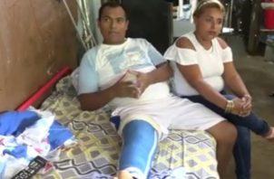 Fermín González Quintero, fue atropellado el pasado 1 de mayo en la garita de las instalaciones de empresa Petroterminales de Panamá. Foto/Mayra Madrid