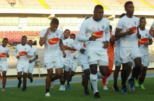 Selección de Panamá se prepara para enfrentar a Estados Unidos. Foto Anayansi Gamez