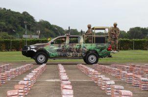 la mayor cantidad de sustancia ilícita decomisada es la cocaína con unos 8,496 paquetes,. Foto/Senan