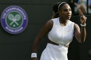 La estadounidense Serena Williams. Foto:AP