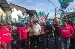 El equipo de campaña de Ricardo Martinelli está consciente de la necesidad de estacionamientos en San Felipe y Santa Ana.