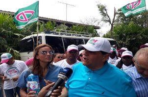 'Ricardo Martinelli es una figura presidencial hacia el 2024', asegura su suplente a la alcaldía, Sergio 'Chello' Gálvez. Foto/Luis Ávila - Victor Arosemena