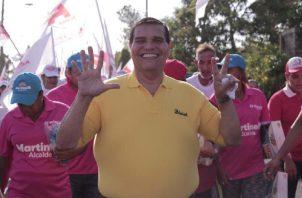 "Sergio ""Chello"" Gálvez quedó como candidato principal a la alcaldía tras ser inhabilitado Ricardo Martinelli."