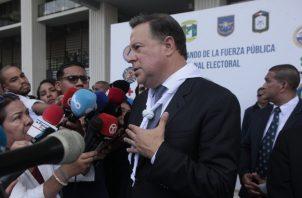 Dos temas anunció Varela para las sesiones extraordinarias. Foto de Víctor Arosemena