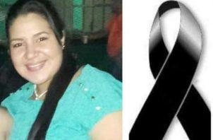 Harrieth Shantal Ortiz de 29 años, tenía cinco meses de embarazo cuando fue alcanzada por un disparo. Foto/José Vásquez